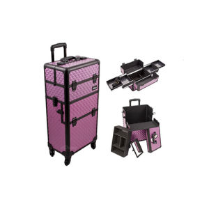 2-in-1 Professional Trolley Makeup Case (HX-A0735) pictures & photos