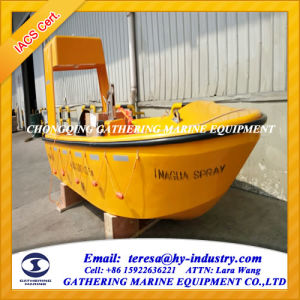 Solas Marine F. R. P. Rescue Boat / Iacs Approval Rescue Boat for 6persons pictures & photos