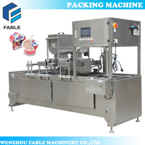 Plastic Cup Filling and Sealing Machine for Juice pictures & photos
