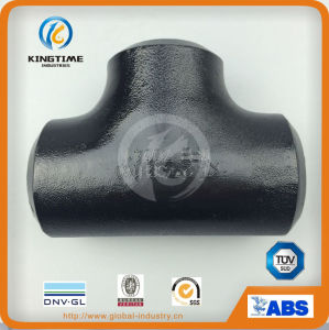 High Quality ASME B16.9 Butt Welded Tee Fitting Carbon Steel Pipe Fitting (KT0297) pictures & photos