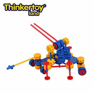 Thinkertoy Land Blocks Educational Toy Military Series Long Range Strike Big Cannon (M6602)