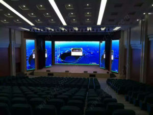 Specialized Factory Indoor LED Display P4.8 with Slim Aluminum Panel (1/10 scan 576X576mm) pictures & photos