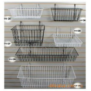Metal Wire Basket Hang Hook