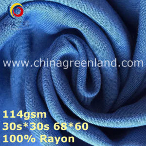 100%Rayon Plain Woven Dyeing Fabric for Textile Garment (GLLML369) pictures & photos