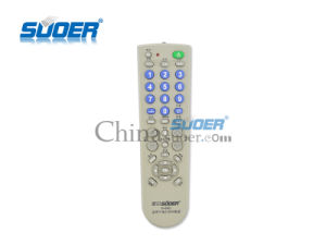 Suoer Lowest Price Universal TV Remote Control TV Remote Control LCD TV Remote Control with CE&RoHS (H-05C) pictures & photos