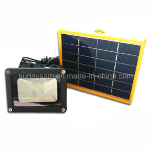 Solar Power LED Flood Night Light for Outdoor Garden Decoration pictures & photos