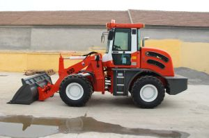 Skid Steer Loader with 4 in 1 Bucket/ Mixer Bucket/A/C pictures & photos