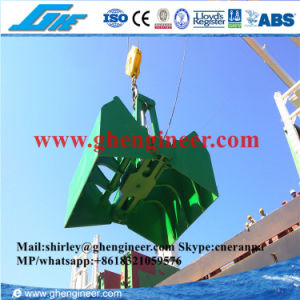 15t 28t Electrical Hydraulic Clamshell Marine Grab pictures & photos
