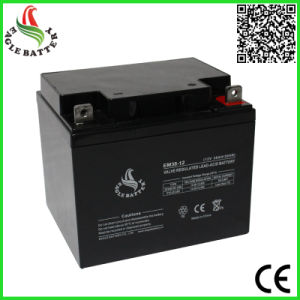 12V 38ah VRLA Rechargeable Sealed Lead Acid Battery pictures & photos