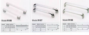 R186 Colorful Hardware Cupboard Handle pictures & photos