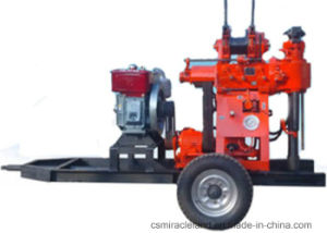 Portable Trailer Mounted Water Well Drilling Rig (XY-200) pictures & photos
