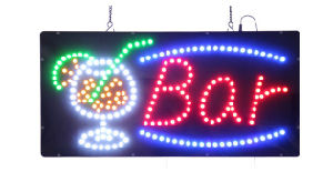 Acrylic Advertising LED Neon Bar Sign