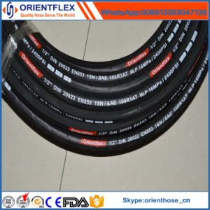 High Pressure SAE 100 R1 Rubber Hydraulic Hose pictures & photos