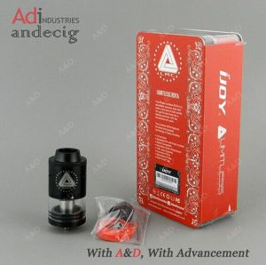 Easy Build Two Post Deck Rebuildable Atomizer Black Limitless Rdta pictures & photos