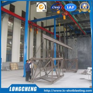 Professional Overhead Rail Shot Blasting Machine