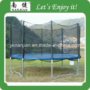 Elastic Bed 14ft Bungee Trampoline with Ladder pictures & photos