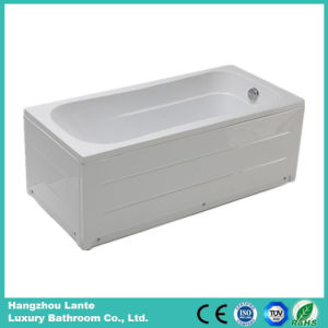 Acrylic Soaking Skirt Bathtub with Fiber Glass (LT-20Q) pictures & photos