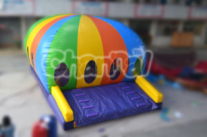 The Colorful Round Air Dome Inflatable Bouncer for Jumping Chb373 pictures & photos