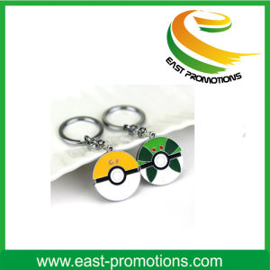Promotion Good Quality Keyrings LED Circular Keychain pictures & photos