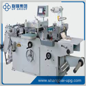 Lqmq-320 Fully-Automatic Roll-Roll Continuous Adhesive Label Die Cutter pictures & photos
