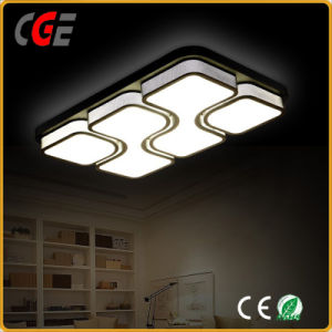 White Acrylic Ceiling Lamp with Decorative Pattern for Household LED Panel Light pictures & photos