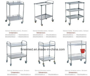 Hospital Clinic Treatment Trolley pictures & photos