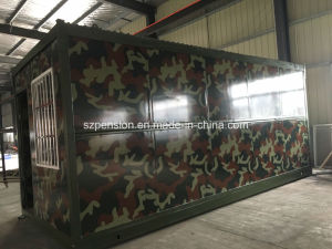 Modern Folding a-Level Fireproof Mobile Prefabricated House Container House for Hot Sale pictures & photos