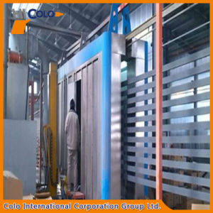 Horizontal Aluminium Profile Powder Coating Automatic Line Design pictures & photos