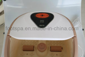 Auto Heating Foot SPA Massager with Red Light mm-8858 pictures & photos