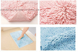 Bathroom Floor Mat Microfiber Bath Mat Rugs High Quality Chenille Bath Mat pictures & photos