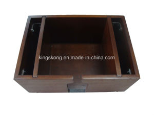 Wooden Bar Caddy with Customized Logo pictures & photos