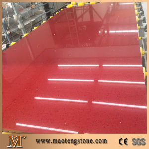 Artificial Red Star Quartz Stone Slab Engineering Quartz Wholesale Price pictures & photos