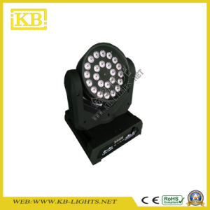 24PCS*10W RGBW 4in1 LED Moving Head Light for Stage pictures & photos
