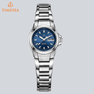 Lady Stainless Steel Wrist Watch with Mineral Glass 71106 pictures & photos