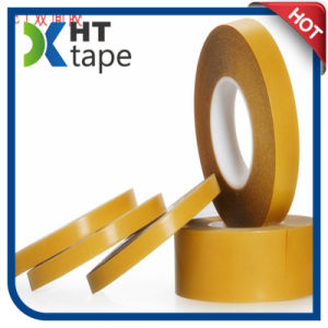 Yellow Glassine Release Paper with Pet Double Sided Tape pictures & photos