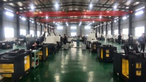 Shanghai High Precision BS205 5-Axis Universal Gang Tool CNC Lathe Machine for Joint Cross pictures & photos