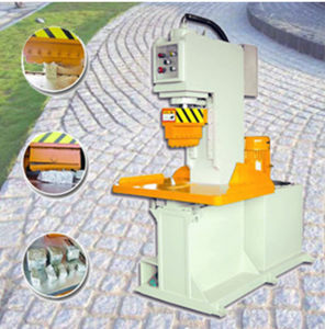 Hydraulic Stone Breaking Machine for Splitting Granite/Marble Paving Stone pictures & photos