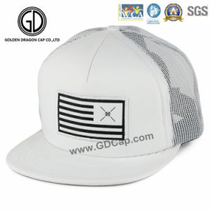 2017 Fitted Snapback Cap Trucker Hat with Custom Embroidery pictures & photos