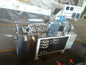 Powder Coating Lab Twin Screw Extruder with Chill Roller pictures & photos