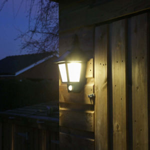 Solar Wall LED Light with Sensor pictures & photos