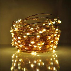 UL Transformer String Lights Long Ultra Thin String Copper Wire for Seasonal Decorative Christmas
