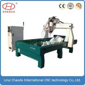 3D CNC Granite Engraver with Cutting Saw and Tool Change pictures & photos