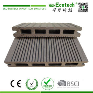 145x21mm WPC Plastic WPC Flooring/Decking Composite Decking, Outdoor Laminate Flooring (145H21-B) pictures & photos