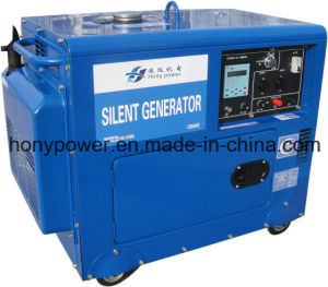 Air Cooled Diesel Silent Generator 2-10kw Best Price! pictures & photos