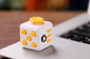 2017 Hand Spinner Fidget Cube with Button Anti Irritability Toy Stress Relief for Adults and Children 12 Fidget Spinner Toy pictures & photos