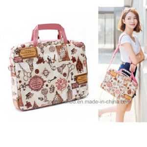 High Quality Fashion Felt 15, 16, 17 Inch Computer Laptop Bag Women pictures & photos