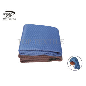 Blue Moving Blanket Made Of 100% Recycle Textile Material pictures & photos