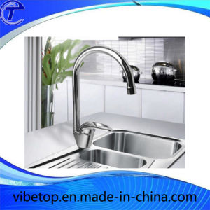 Moden Brass Zinc Alloy Kitchen Faucet with Single Handle pictures & photos