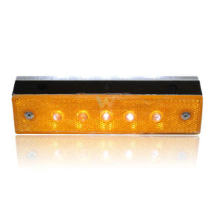 Tunnel Road Plastic Wired Yellow White LED Road Stud pictures & photos