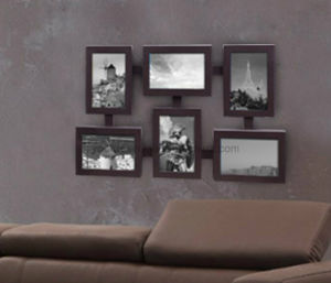 Plastic Multi Openning Collage Wall Mirror Picture Photo Frame pictures & photos